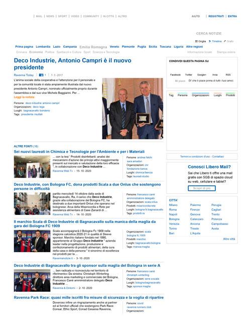 Deco Industrie, Antonio Campri è il nuovo presidente